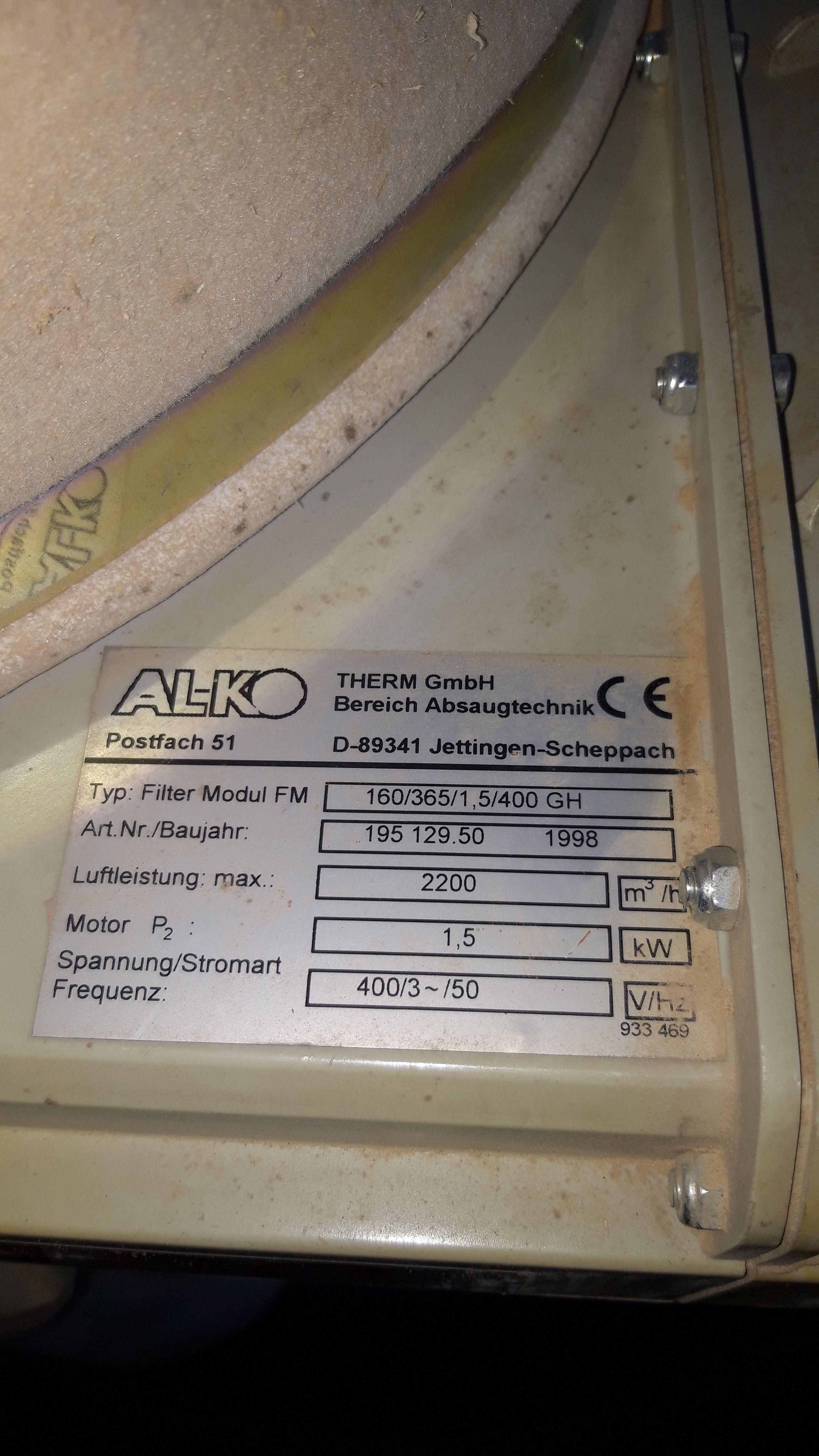 Вытяжное устройство ALKO Mobil 160 фото на Industry-Pilot