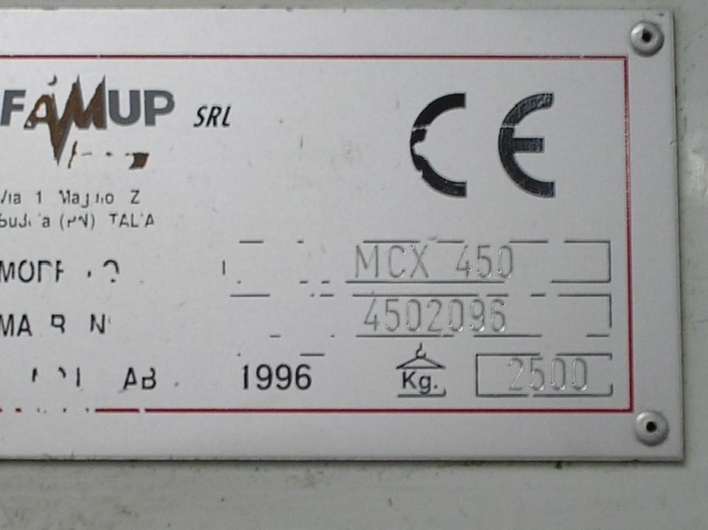 Обрабатывающий центр - вертикальный FAMUP MCX 450 фото на Industry-Pilot