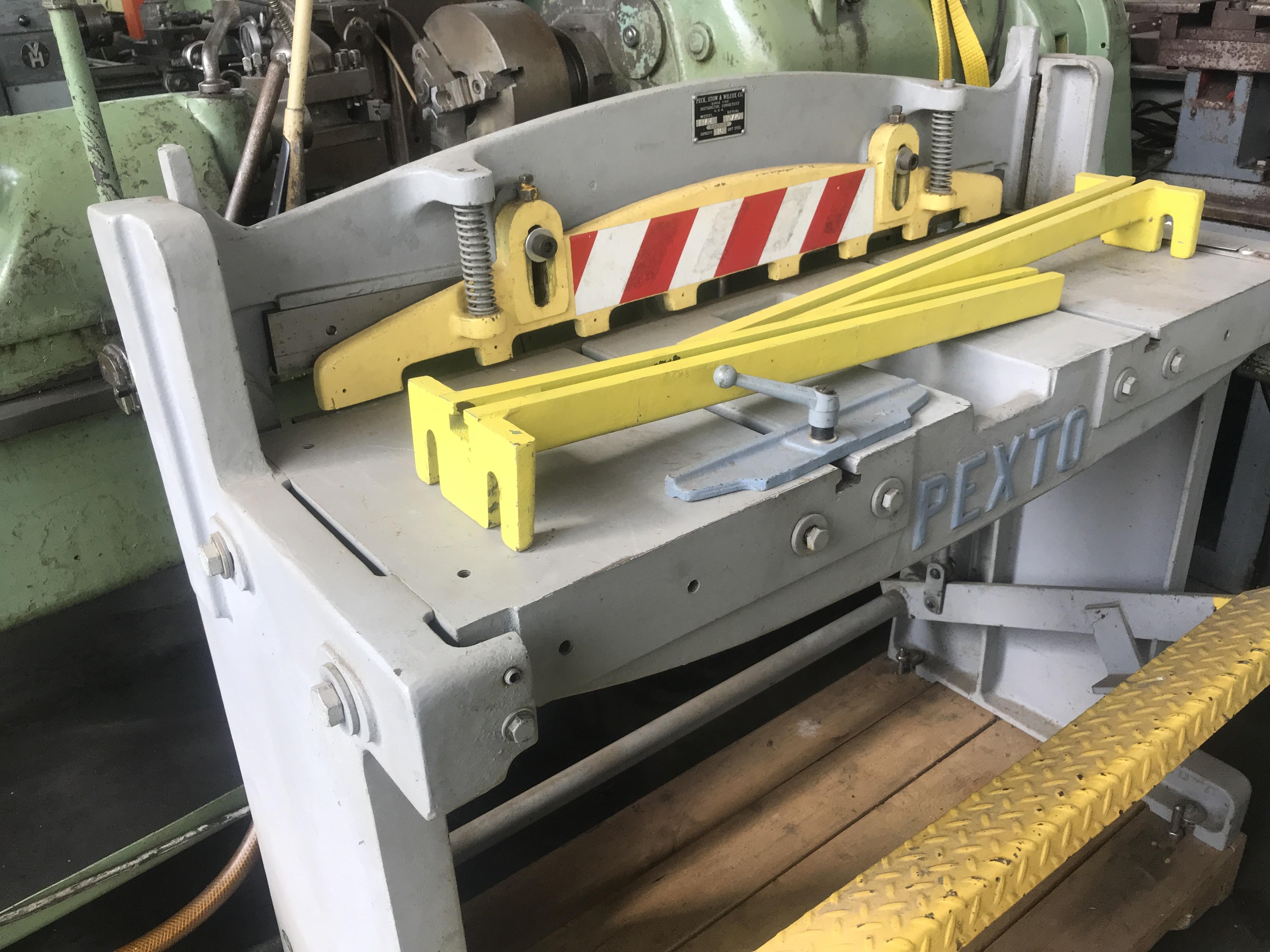 Гильотина механическая PEXTO 137/L фото на Industry-Pilot