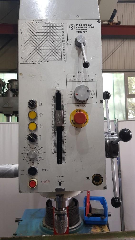 Скоростной радиально-сверлильный станок VOLZ BRB-32F фото на Industry-Pilot