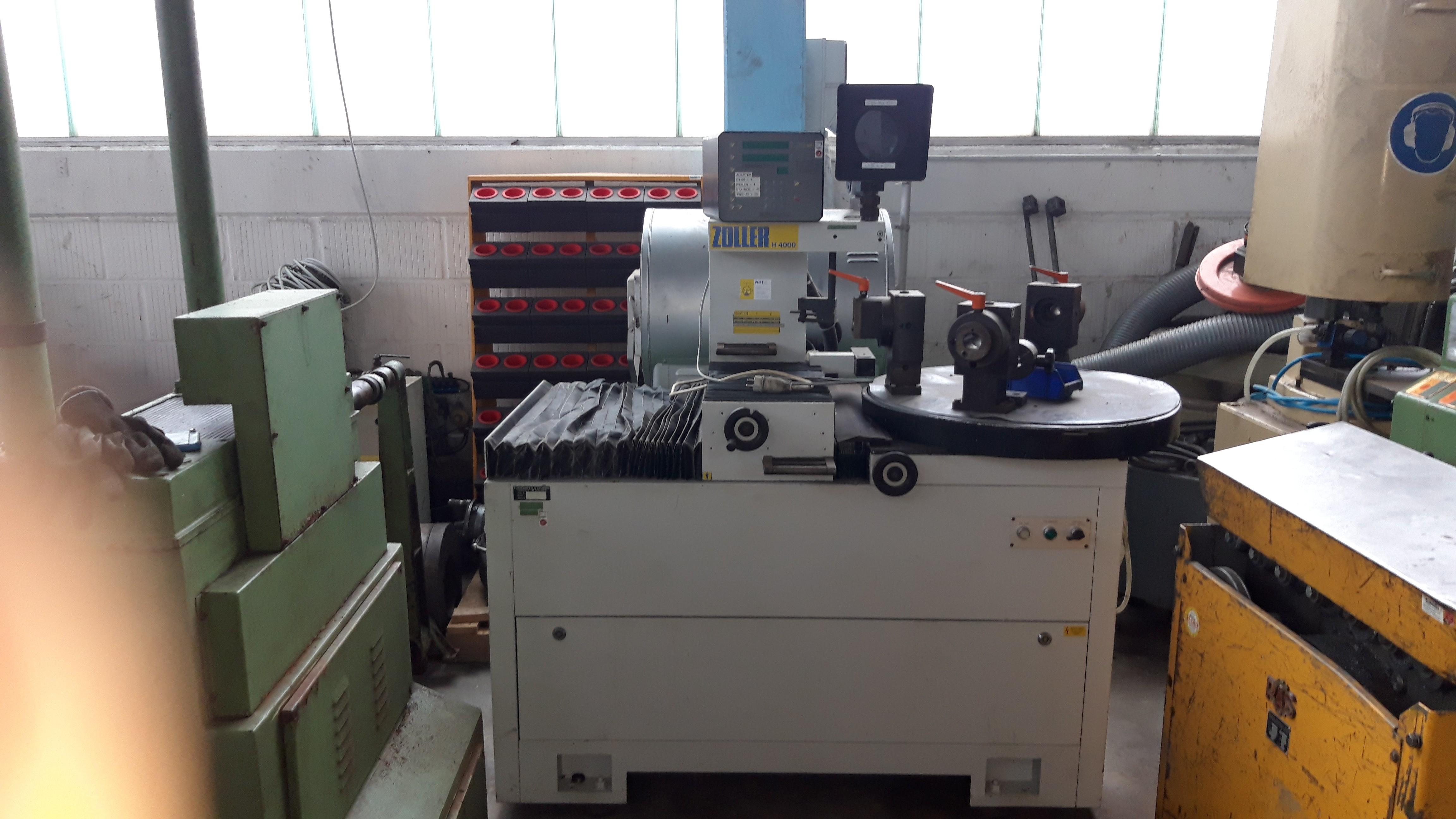 Устройство для предварительной настройки и измерения инструмента ZOLLER H 4000 / H 4012 / 132 фото на Industry-Pilot