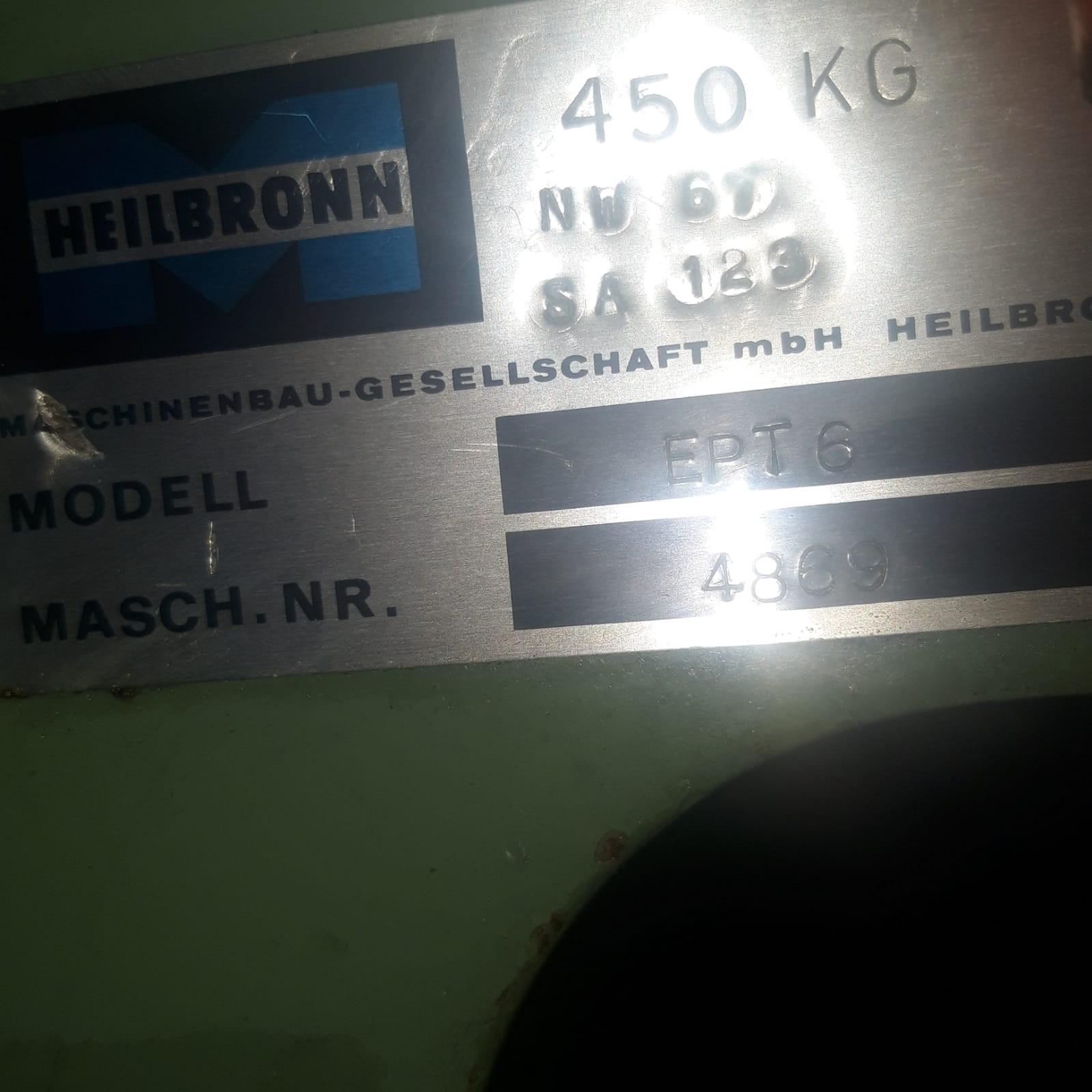 Эксцентриковый пресс - одностоечный HEILBRONN EPT 6 фото на Industry-Pilot