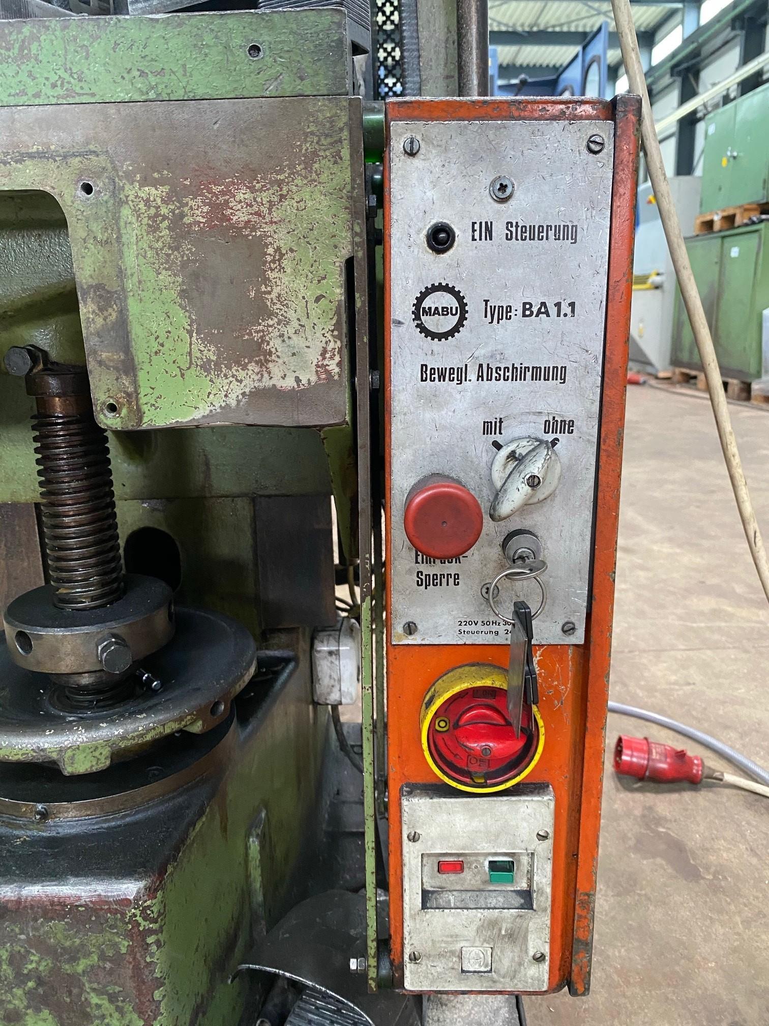 Эксцентриковый пресс - одностоечный MABU 12 TF фото на Industry-Pilot