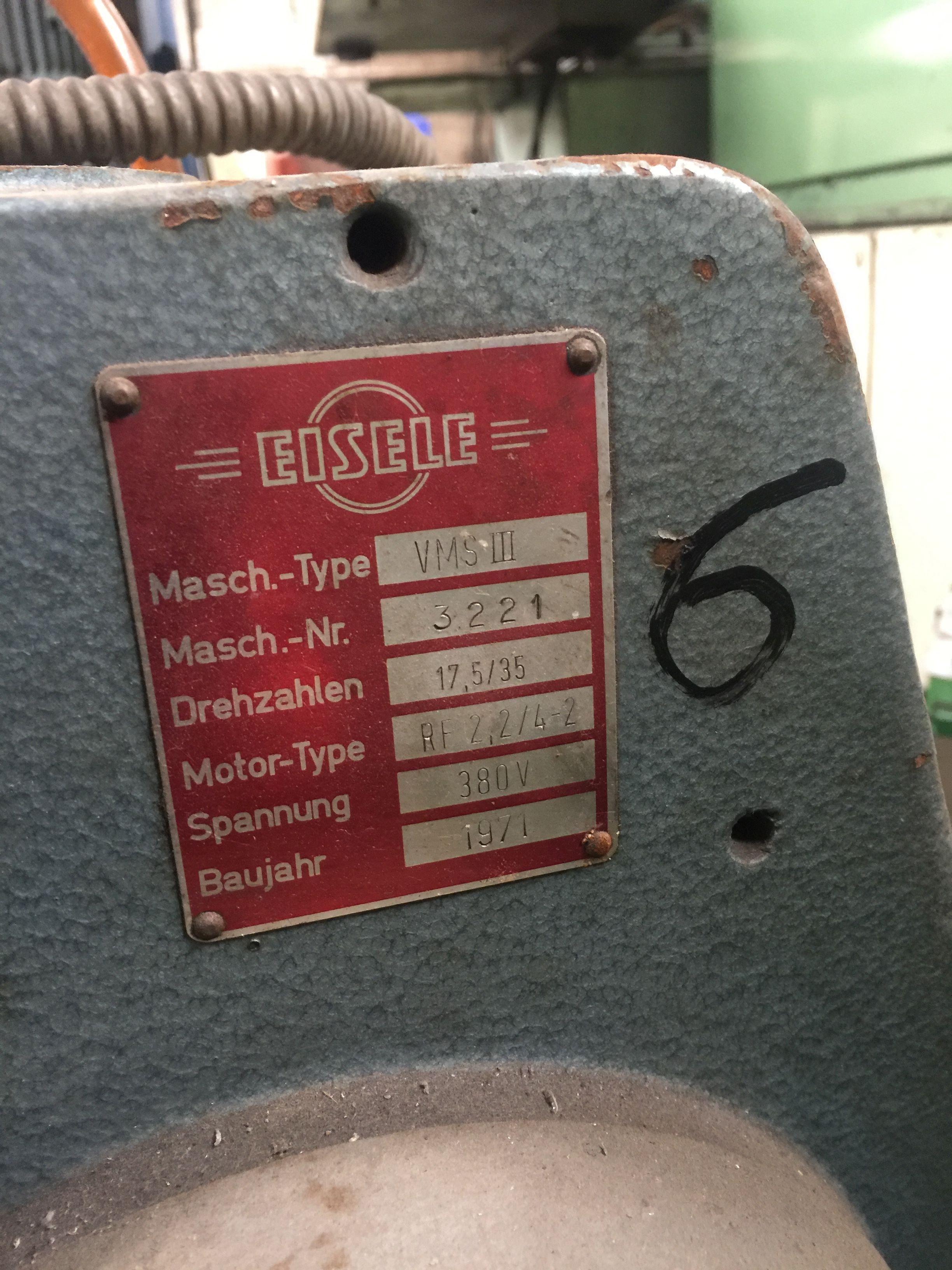 Дисковая пила - для алюминия, пластика, дерева EISELE VMS III фото на Industry-Pilot