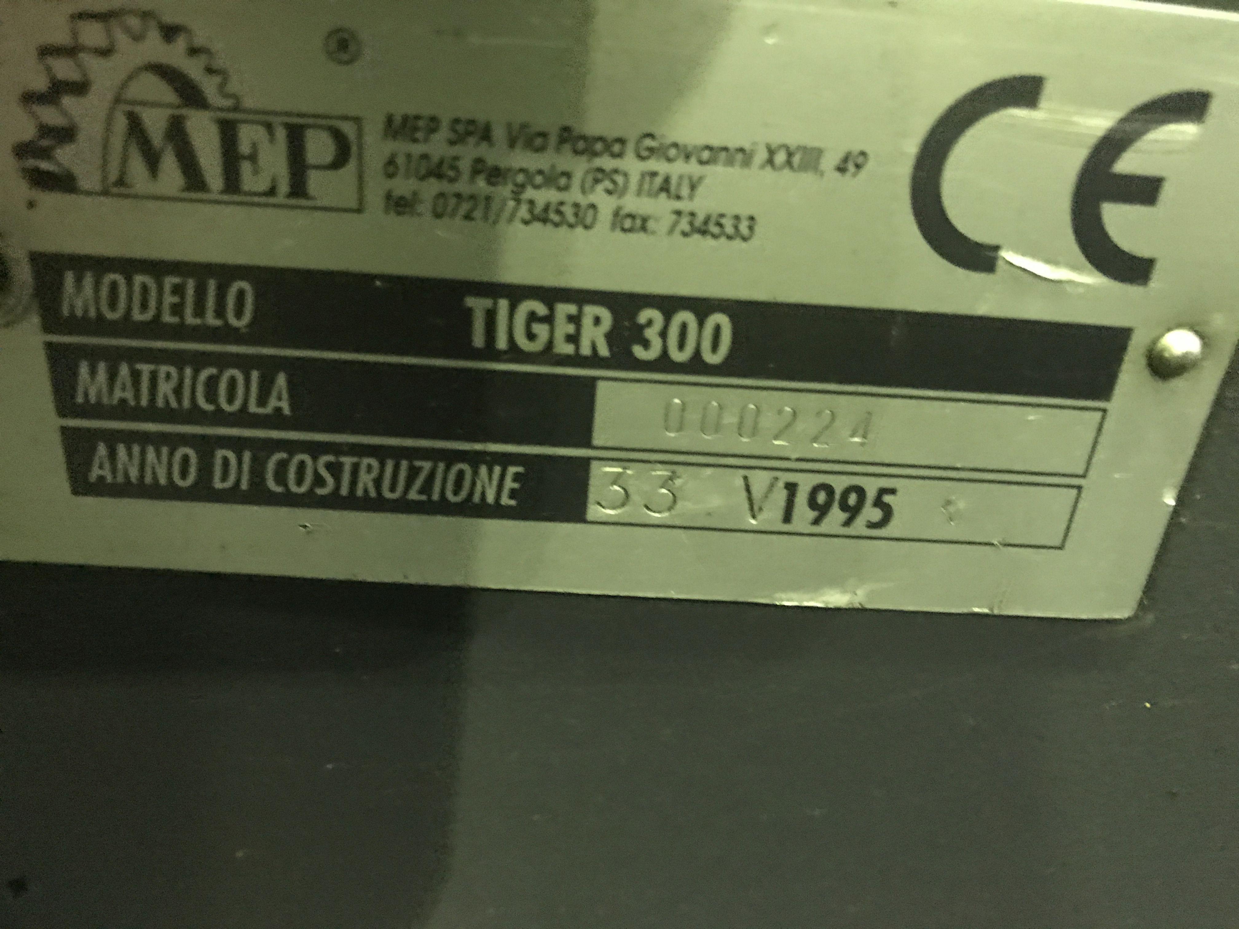 Дисковая пила - для алюминия, пластика, дерева MEP Tiger 300 фото на Industry-Pilot