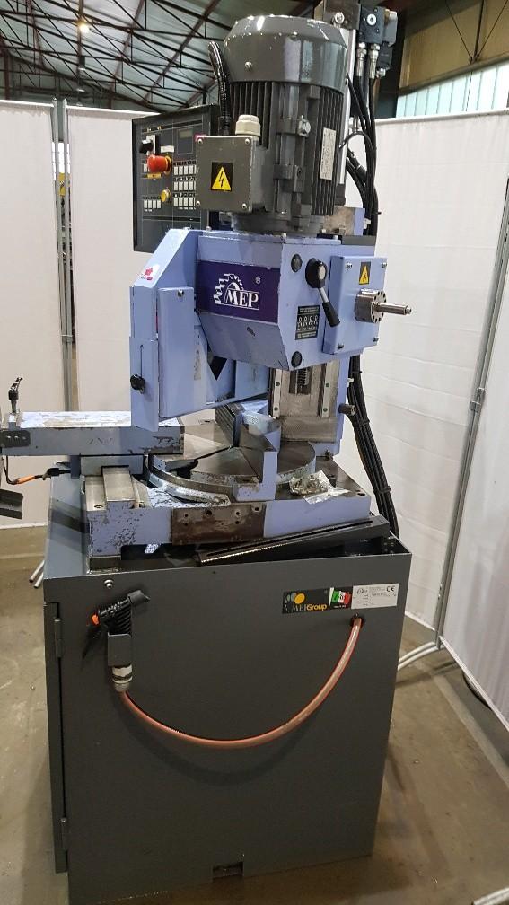 Дисковая пила - для алюминия, пластика, дерева MEP Tiger 370 SX фото на Industry-Pilot