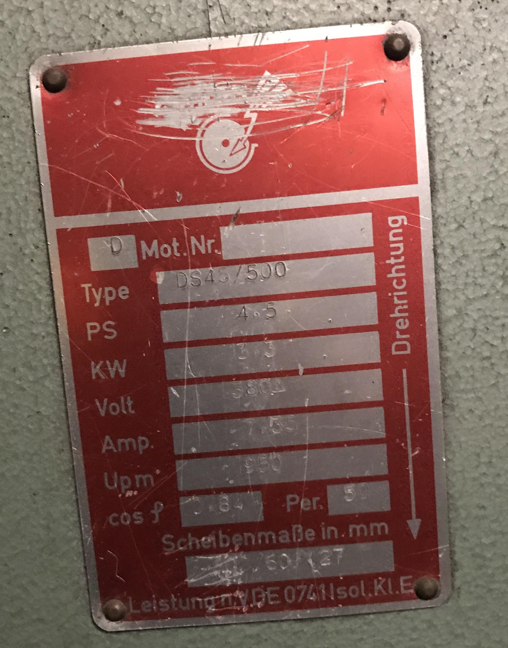 Двухдисковый шлифовальный станок - вертик. REMA DS 45/500 фото на Industry-Pilot