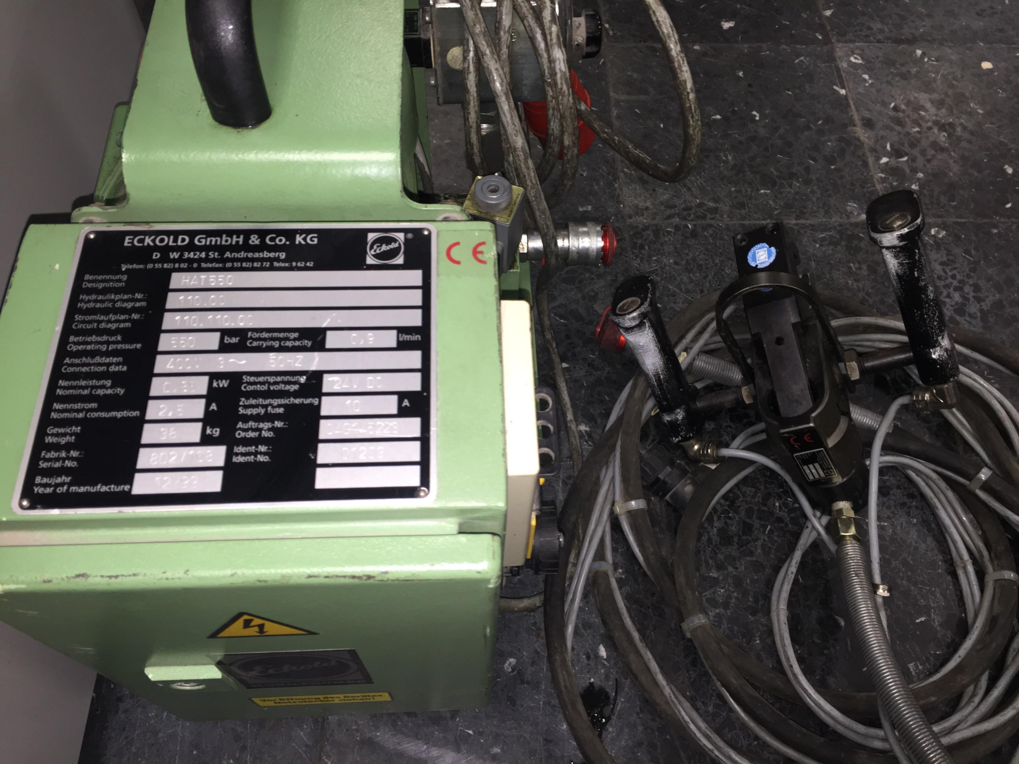 Другие ECKOLD HAT 550 фото на Industry-Pilot