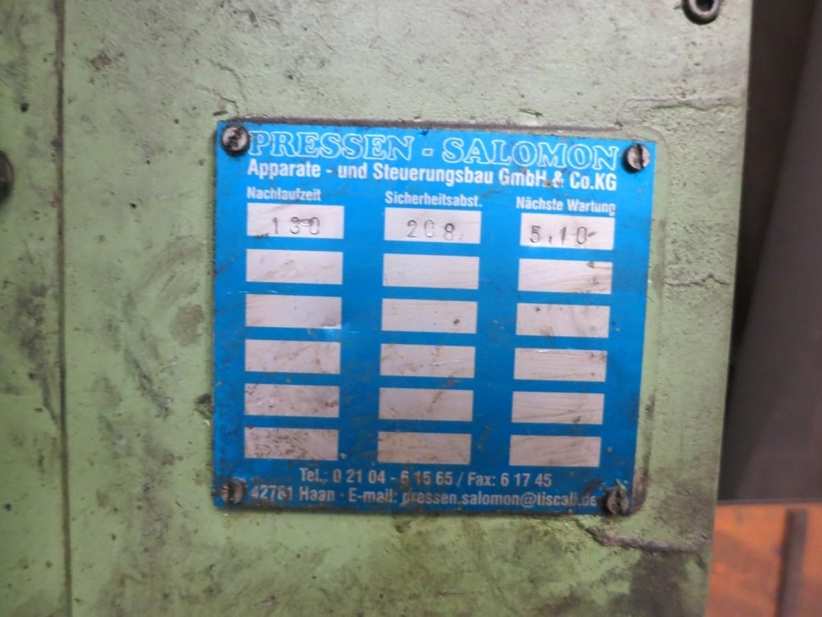 Одностоечный пресс - гидравлический MÜLLER-WEINGARTEN CAZ 100 5.1. фото на Industry-Pilot