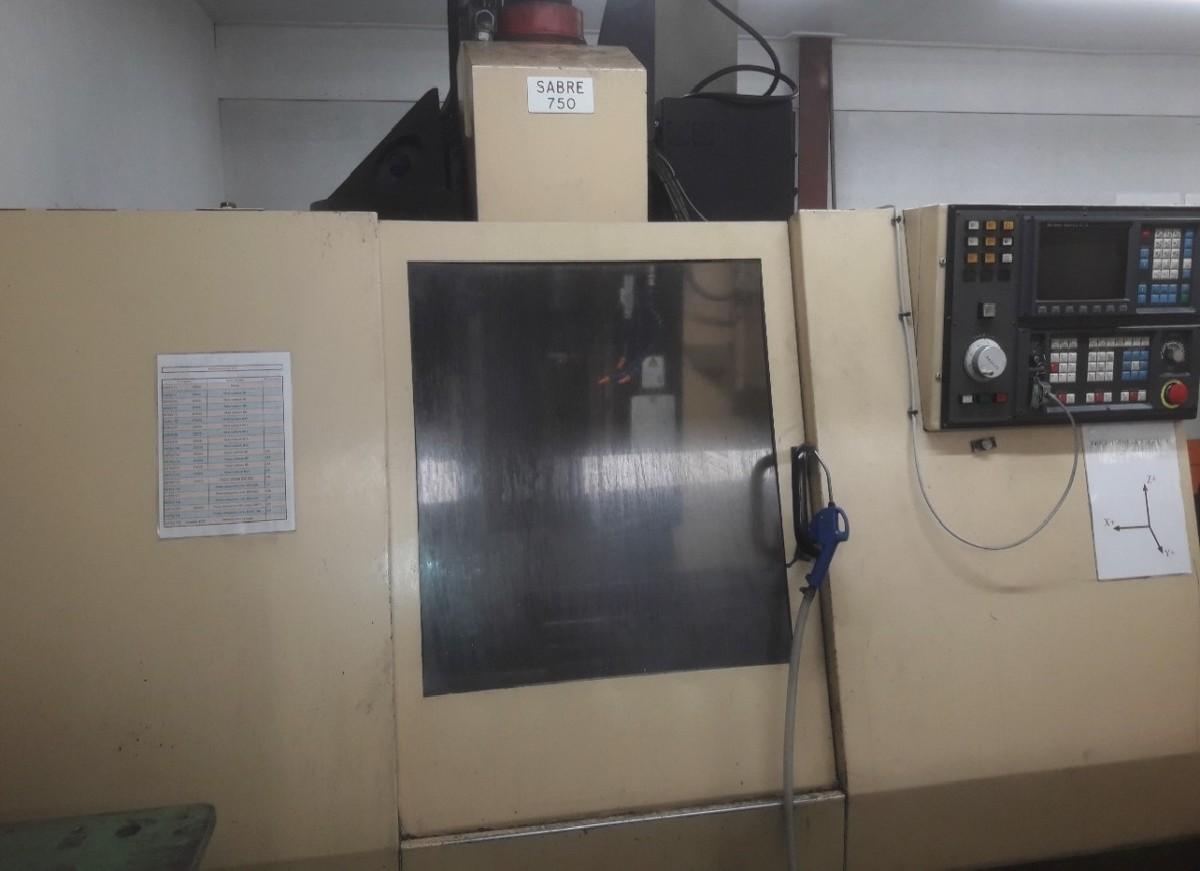 Обрабатывающий центр - вертикальный CINCINNATI SABRE 750 фото на Industry-Pilot