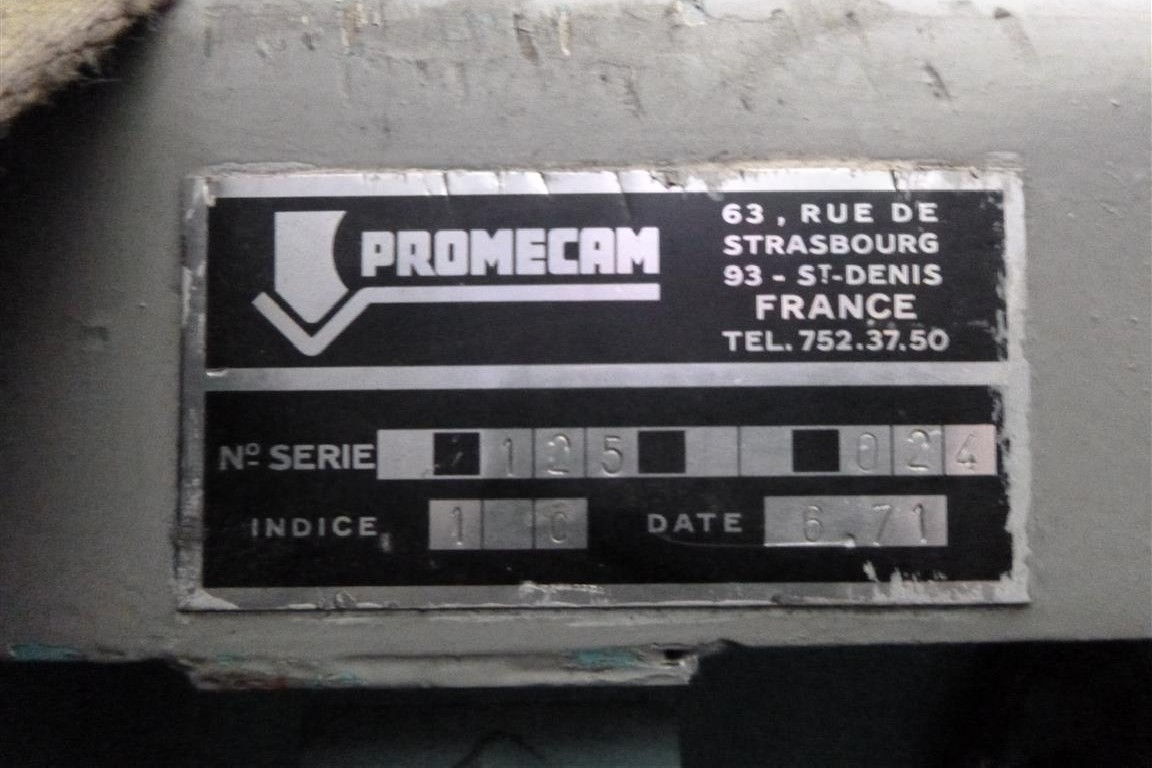 Листогибочный пресс - гидравлический Promecam RG-125 фото на Industry-Pilot