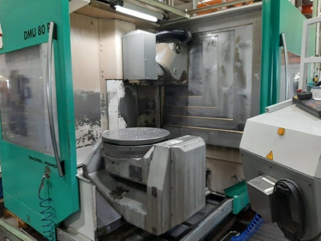 Обрабатывающий центр - универсальный DECKEL- MAHO DMG DMU 80 P фото на Industry-Pilot