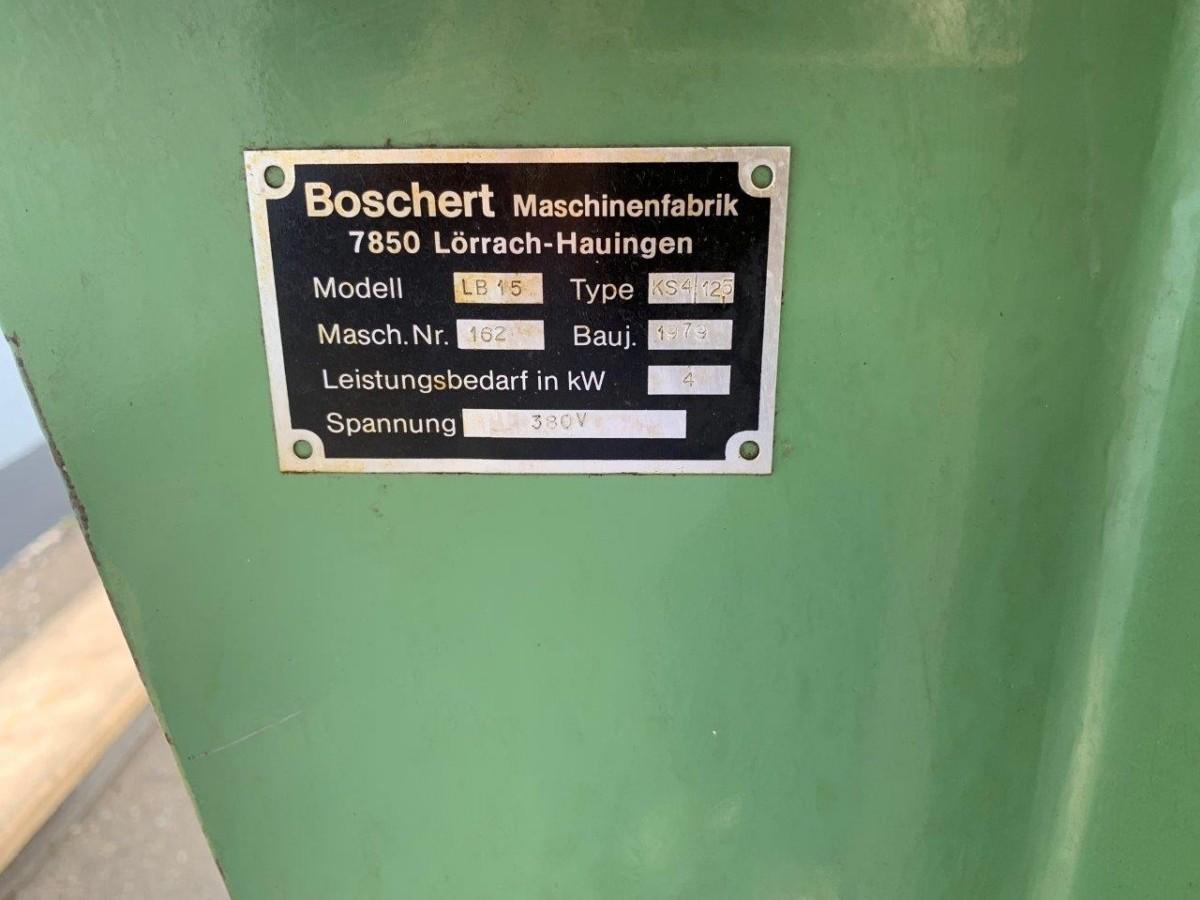 Зарубочный станок BOSCHERT LB 15 KS4/12,5 фото на Industry-Pilot