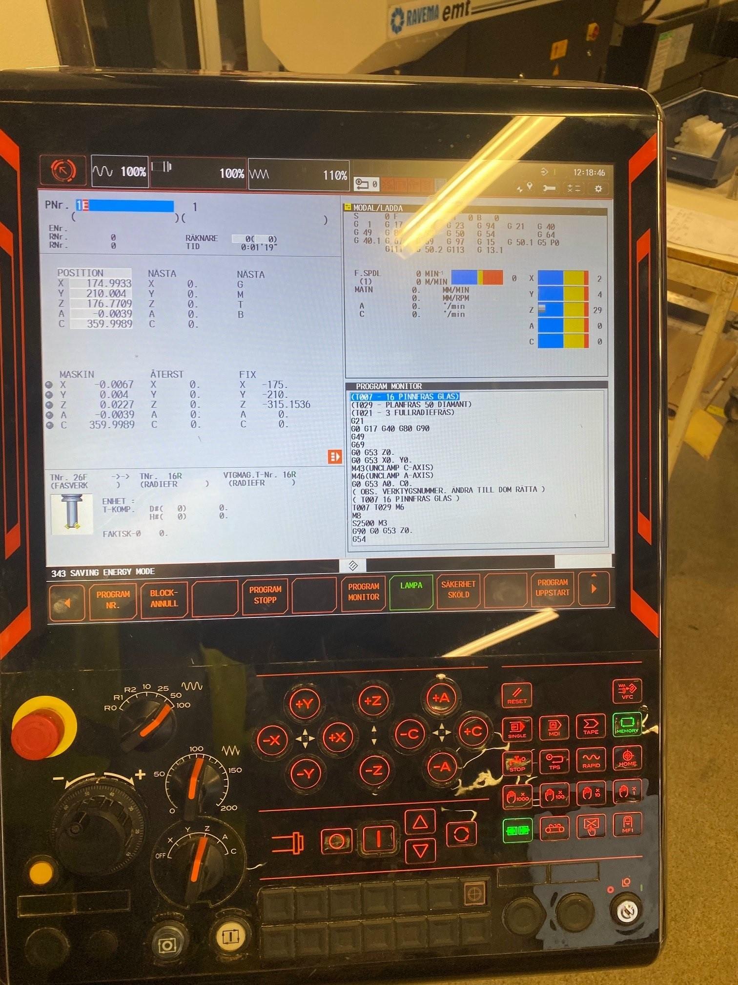 Обрабатывающий центр - универсальный Mazak Variaxis J-500/5X 5-Осей фото на Industry-Pilot