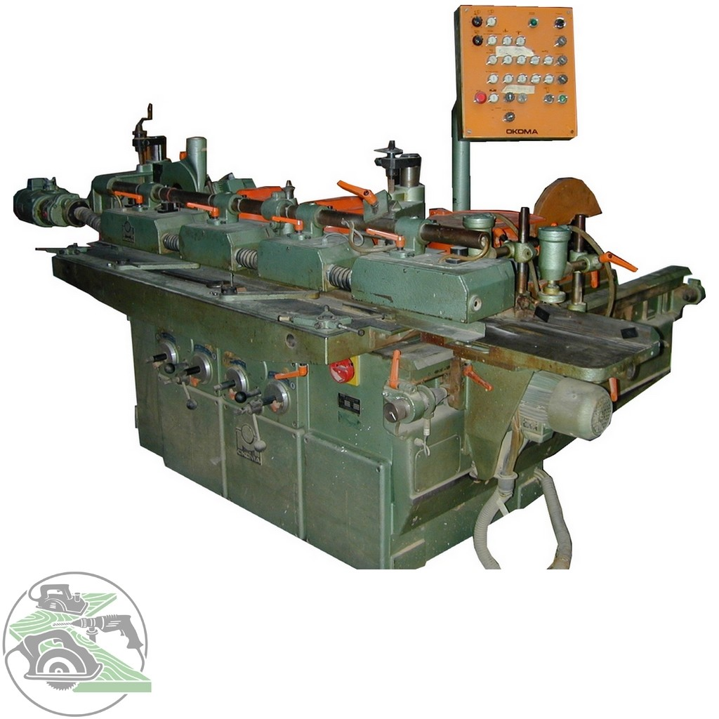 Угловой центр Okoma Fensterautomat/Winkelanlage Typ UF 2 S фото на Industry-Pilot