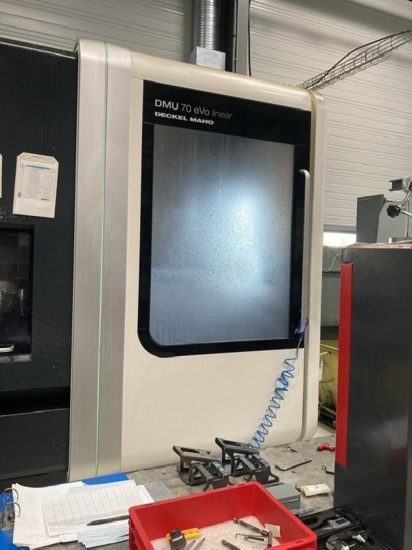 Обрабатывающий центр - универсальный DMG DMU70 EVOLUTION linear5 achsen фото на Industry-Pilot