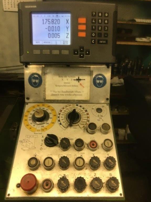 Обрабатывающий центр - универсальный MAHO MH 600 P (CNC) фото на Industry-Pilot