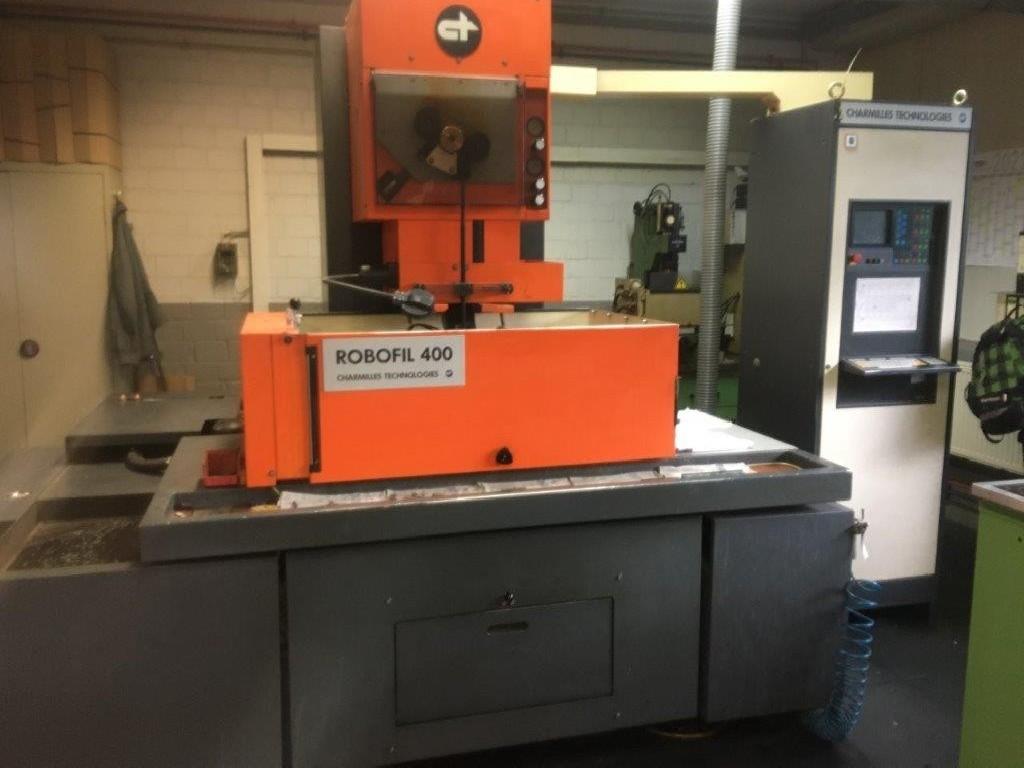 Проволочно-вырезной станок CHARMILLES Robofil 400 (CNC) фото на Industry-Pilot