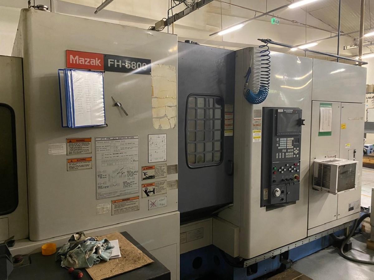 Обрабатывающий центр - горизонтальный MAZAK FH 5800 фото на Industry-Pilot