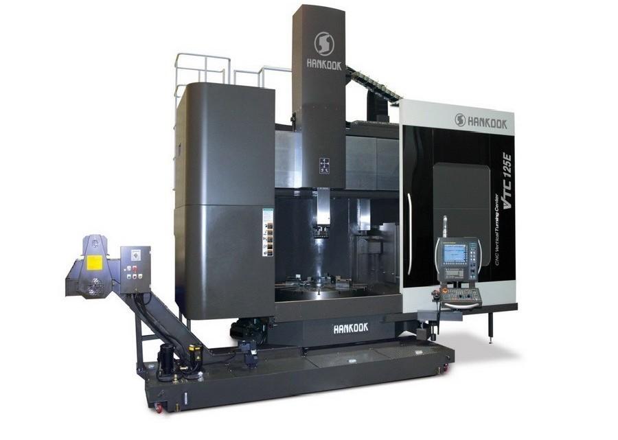 Карусельно-токарный станок одностоечный HANKOOK VTC 125 E фото на Industry-Pilot