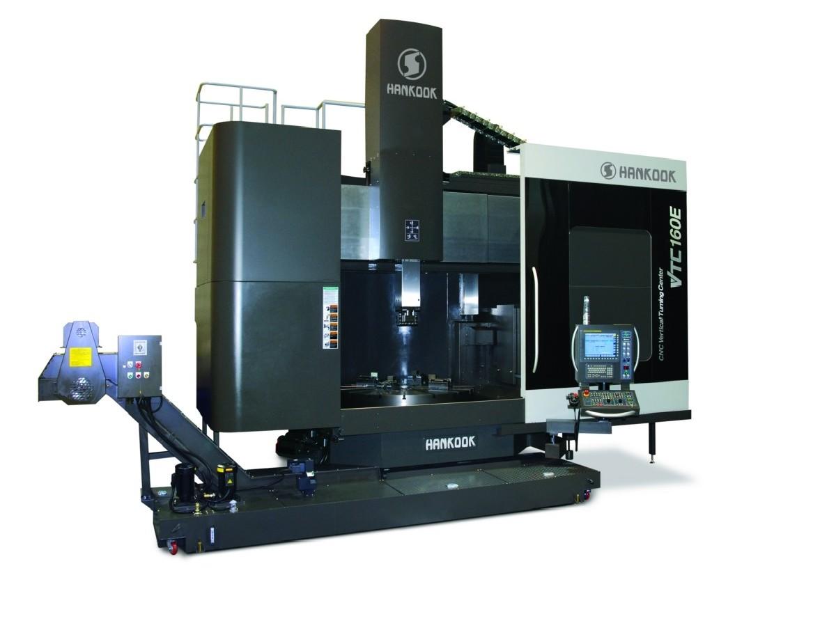 Карусельно-токарный станок одностоечный HANKOOK VTC 160 E фото на Industry-Pilot