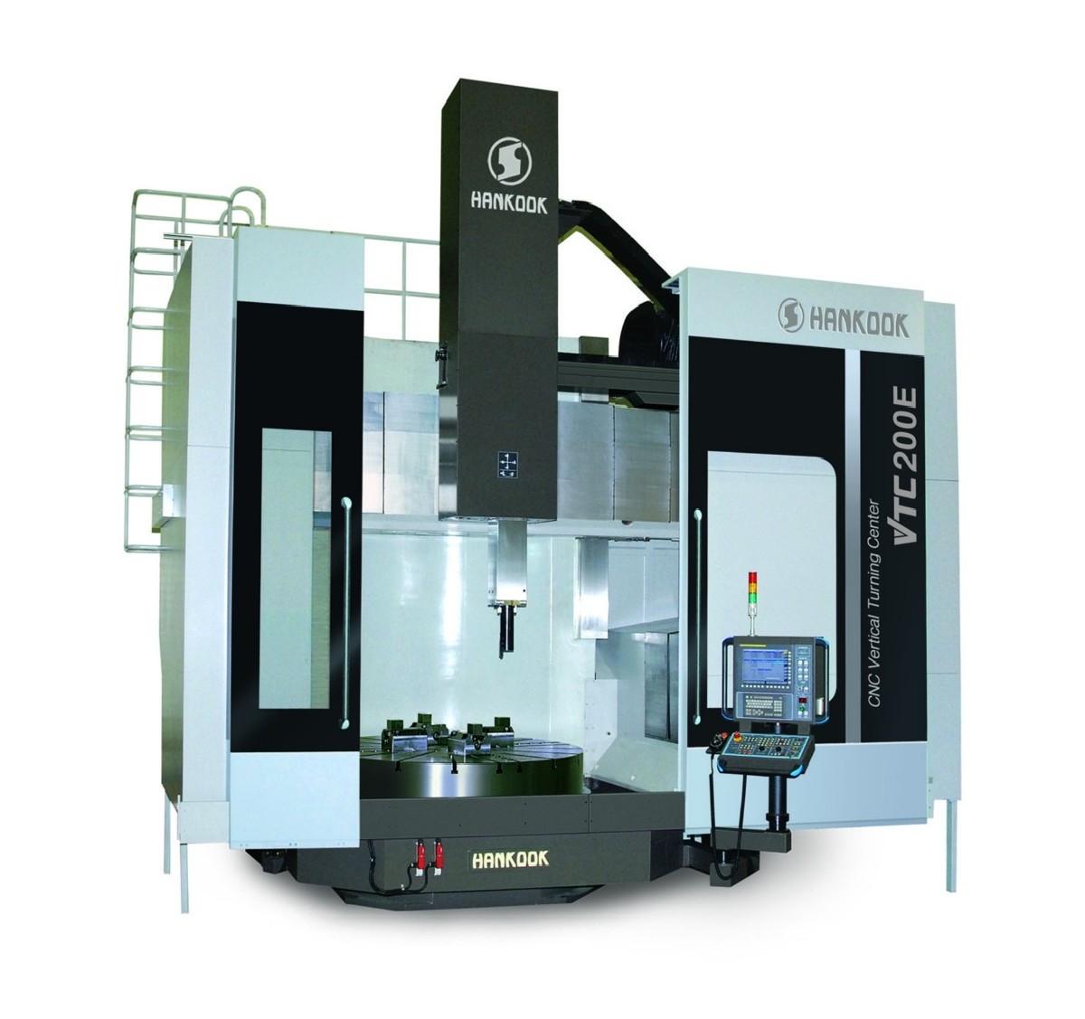 Карусельно-токарный станок одностоечный HANKOOK VTC 200 E фото на Industry-Pilot