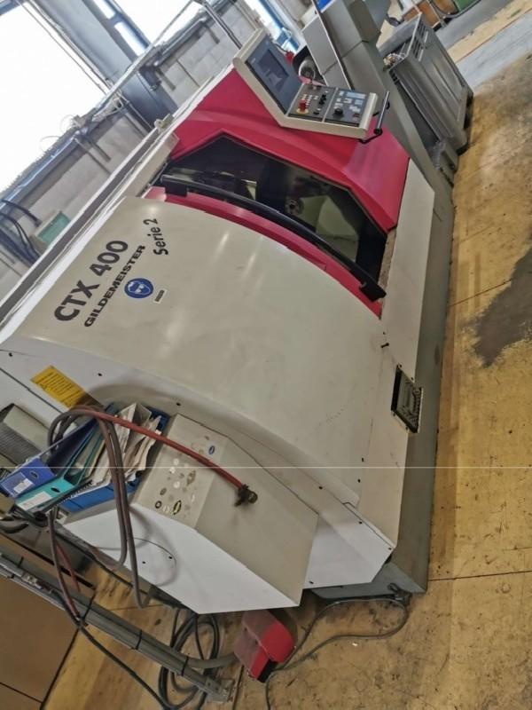 Токарно фрезерный станок с ЧПУ GILDEMEISTER CTX 400 SERIE 2 фото на Industry-Pilot