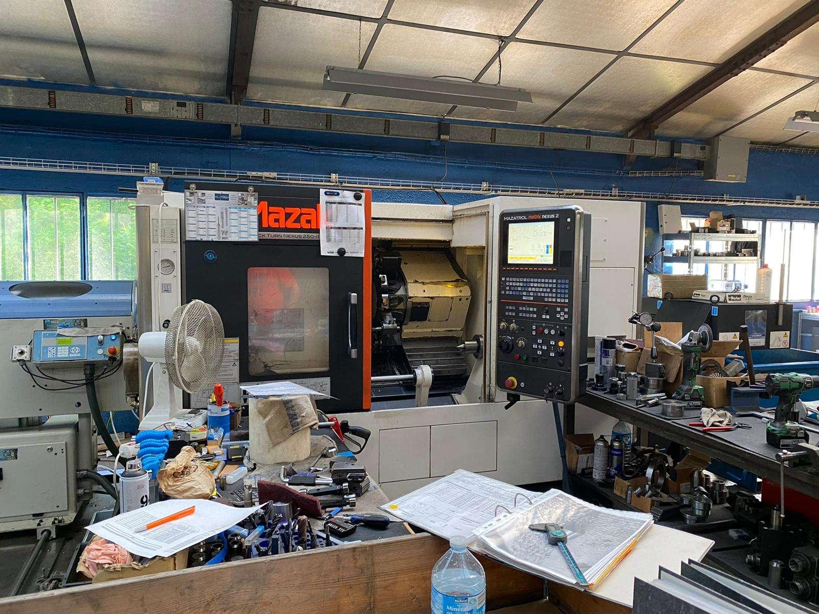 CNC Turning Machine Mazak QTN 250 II MY