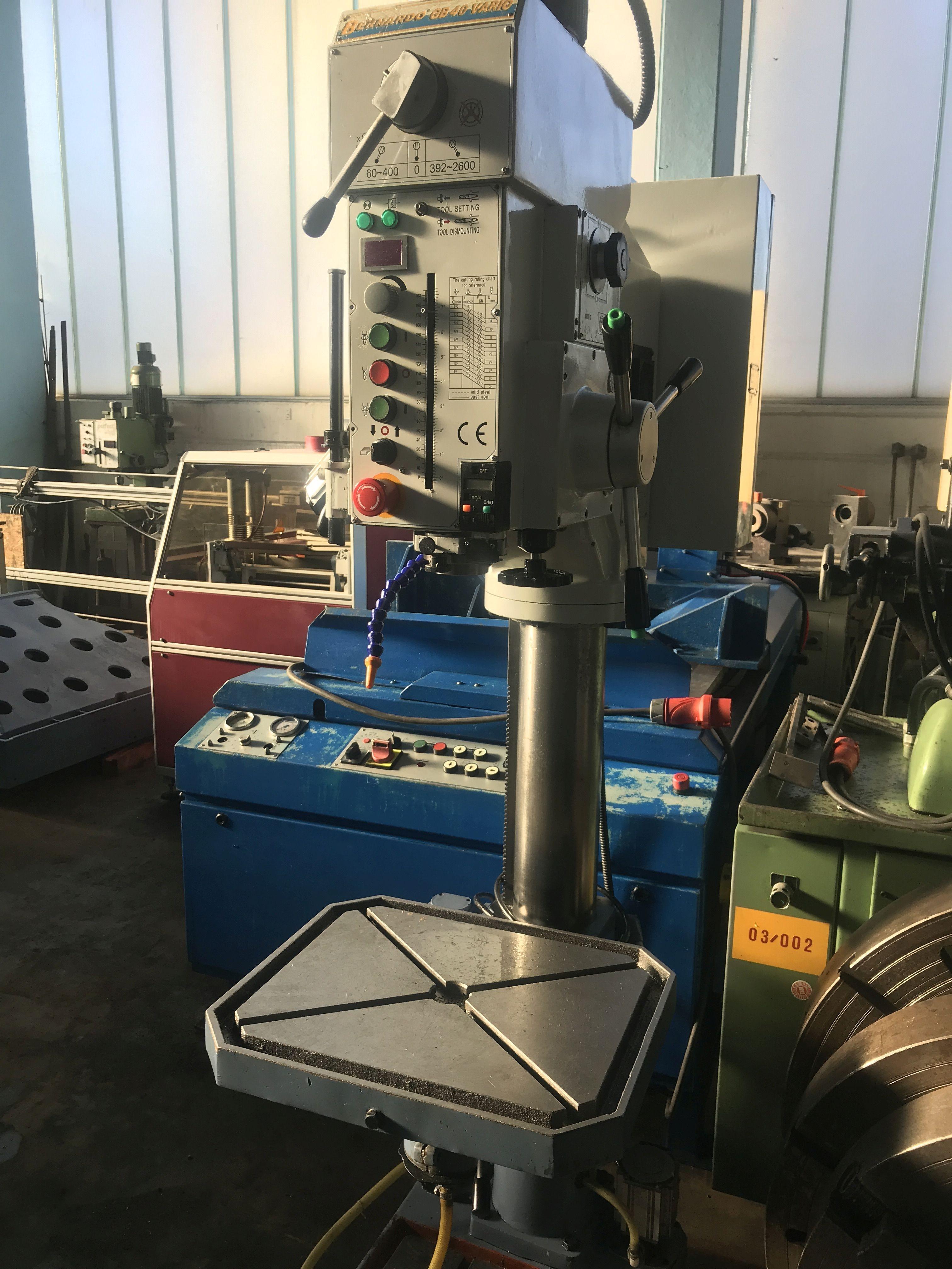 Сверлильный станок со стойками OPTIMUM Optidrill DH 45 V фото на Industry-Pilot