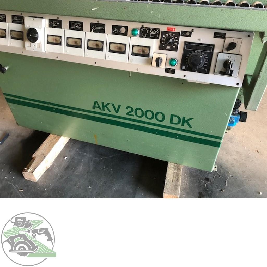 Кромкооблицовочный станок Hebrock Kantenanleimmaschine AKV 2000 DK фото на Industry-Pilot