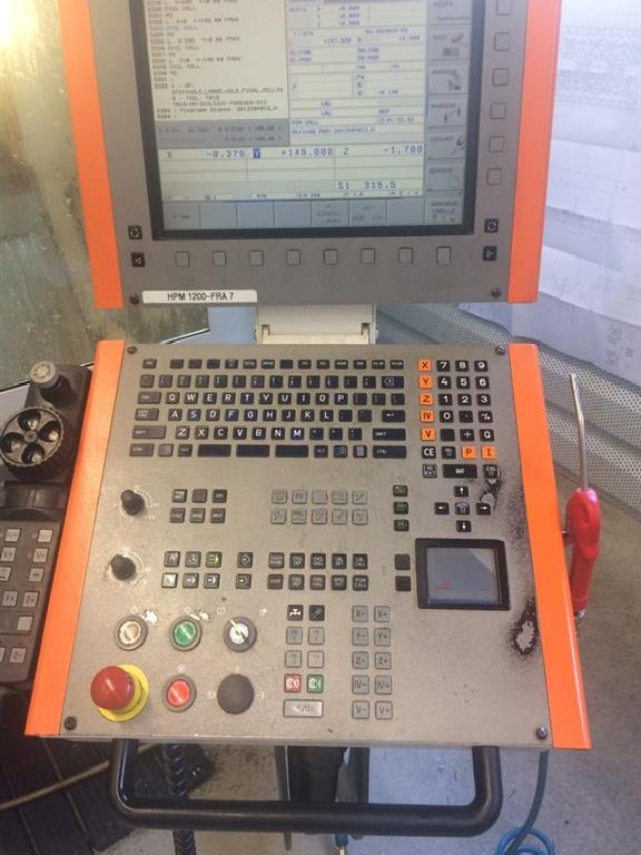 Обрабатывающий центр - вертикальный MIKRON HPM 1200 HD фото на Industry-Pilot