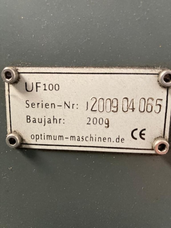 Обрабатывающий центр - универсальный OPTIMUM UF100 фото на Industry-Pilot