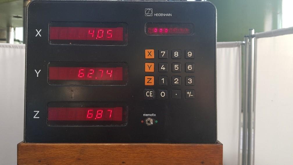 Фрезерный станок с ручным управлением MIKRON WF 2 фото на Industry-Pilot