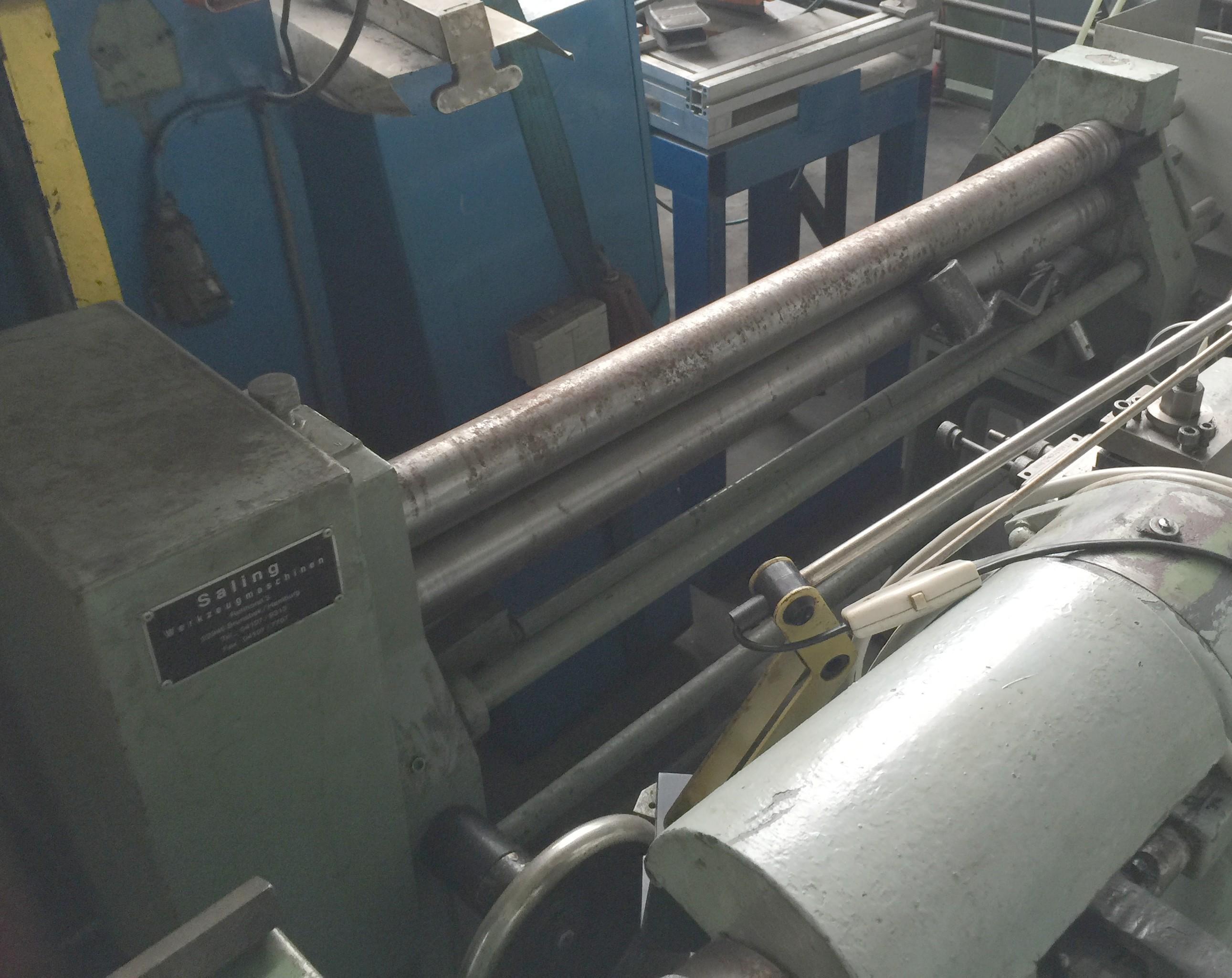 3-вальц. листогибочная машина SALING 1000 x 1,5 mm фото на Industry-Pilot