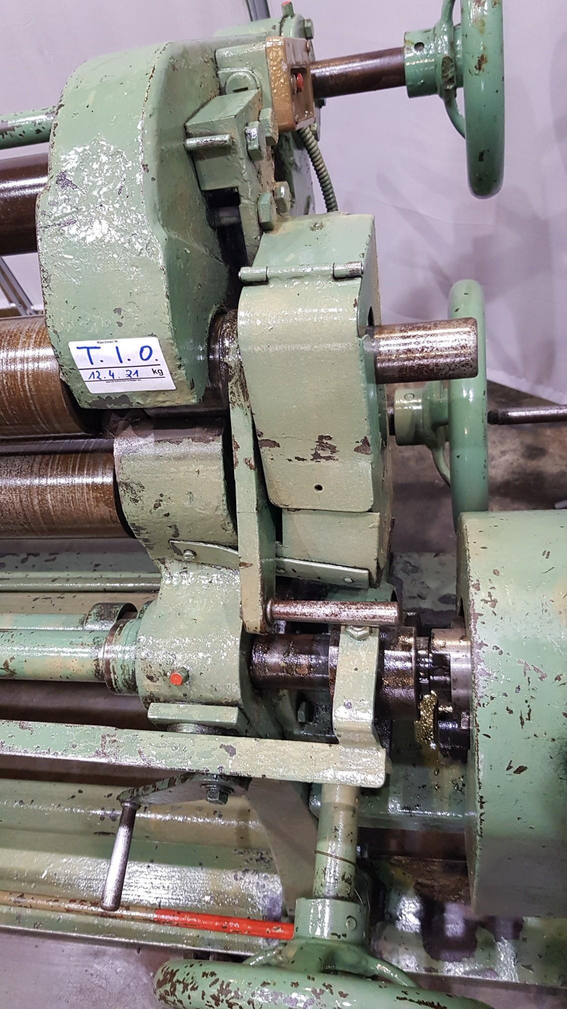 4-вальц. листогибочная машина Unbekannt 1000 x 3-4 фото на Industry-Pilot