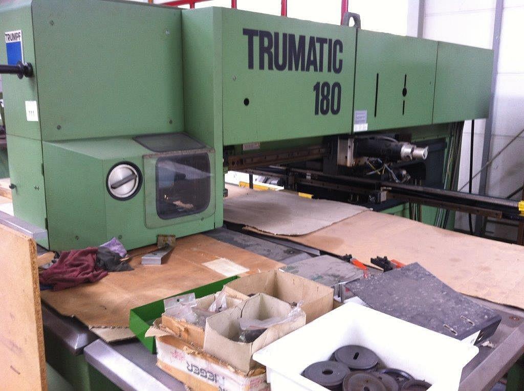 Координатно-пробивной пресс TRUMPF Trumatic 180 W Trumatic 180 W 9053H1 Nr. 355 фото на Industry-Pilot