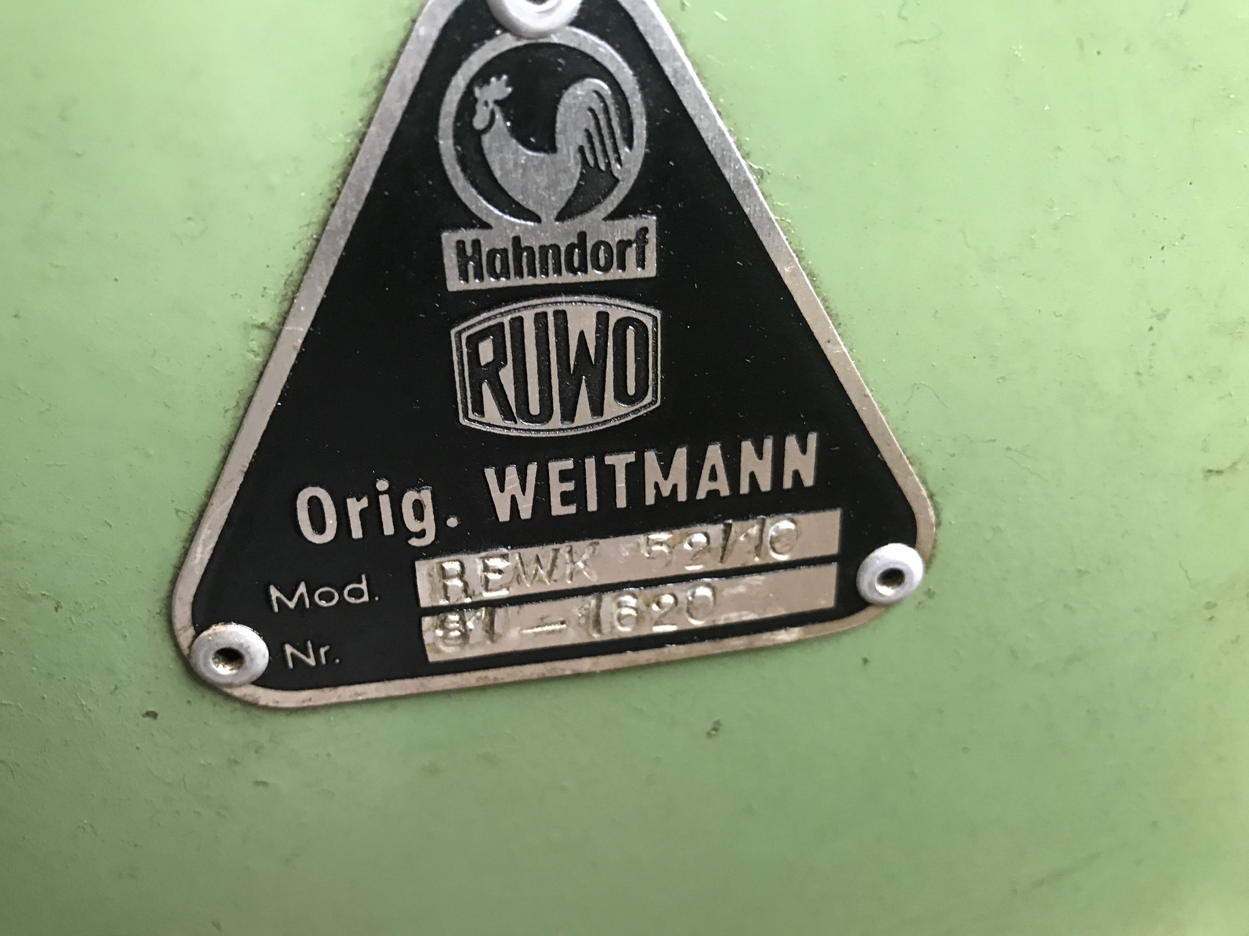 Шпоночно-долбёжный станок RUWO HAHNDORF REWK 52/10 фото на Industry-Pilot