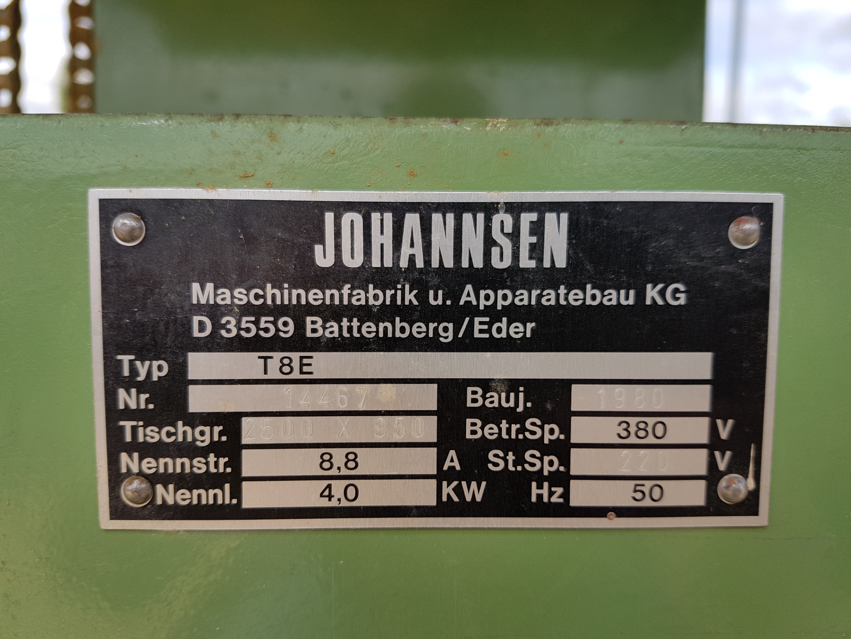 JOHANNSEN T 8 E фото на Industry-Pilot