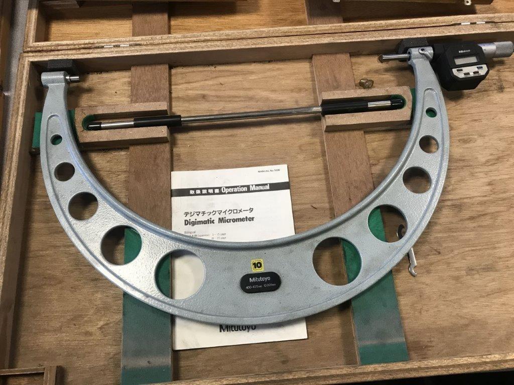 Штангенциркули MITUTOYO Außenmikrometer gebraucht фото на Industry-Pilot