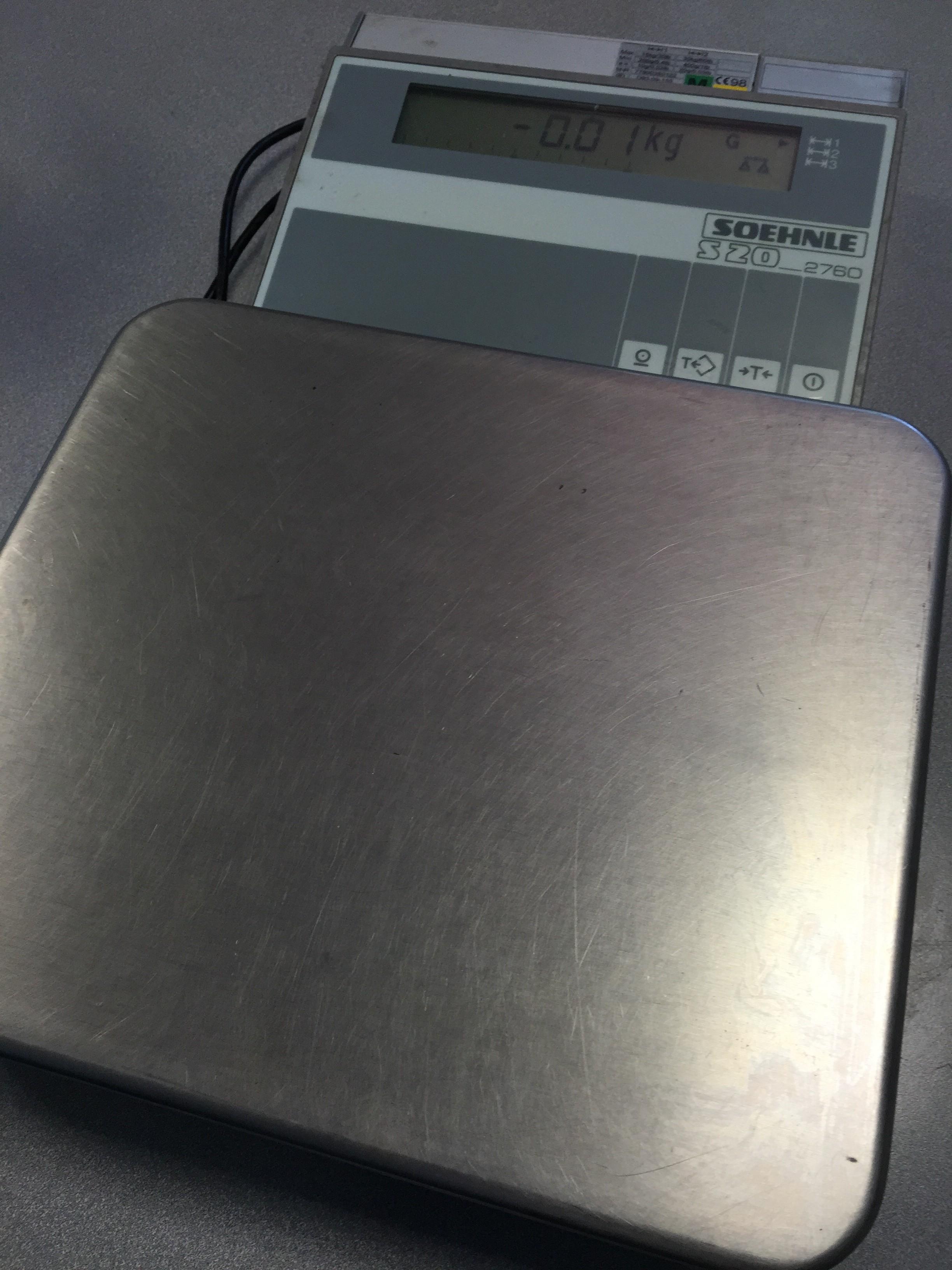Весы SOEHNLE S 20 / 2760 фото на Industry-Pilot