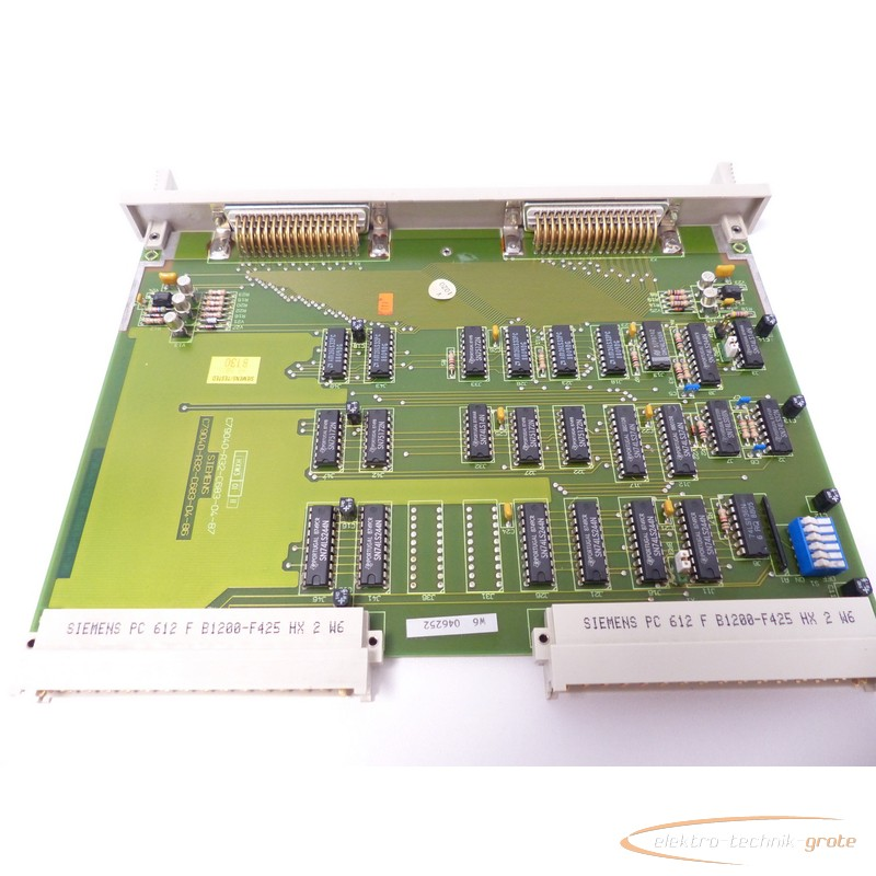 Board Siemens PC 612 F B1200-F425 HX 2 W6 Platine