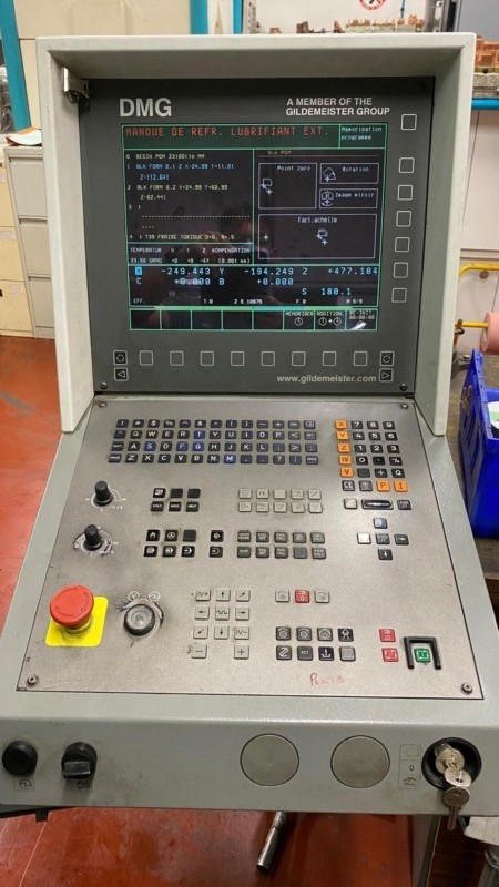 Обрабатывающий центр - вертикальный DMG DECKEL MAHO GILDEMEISTER DMU 50 evolution фото на Industry-Pilot
