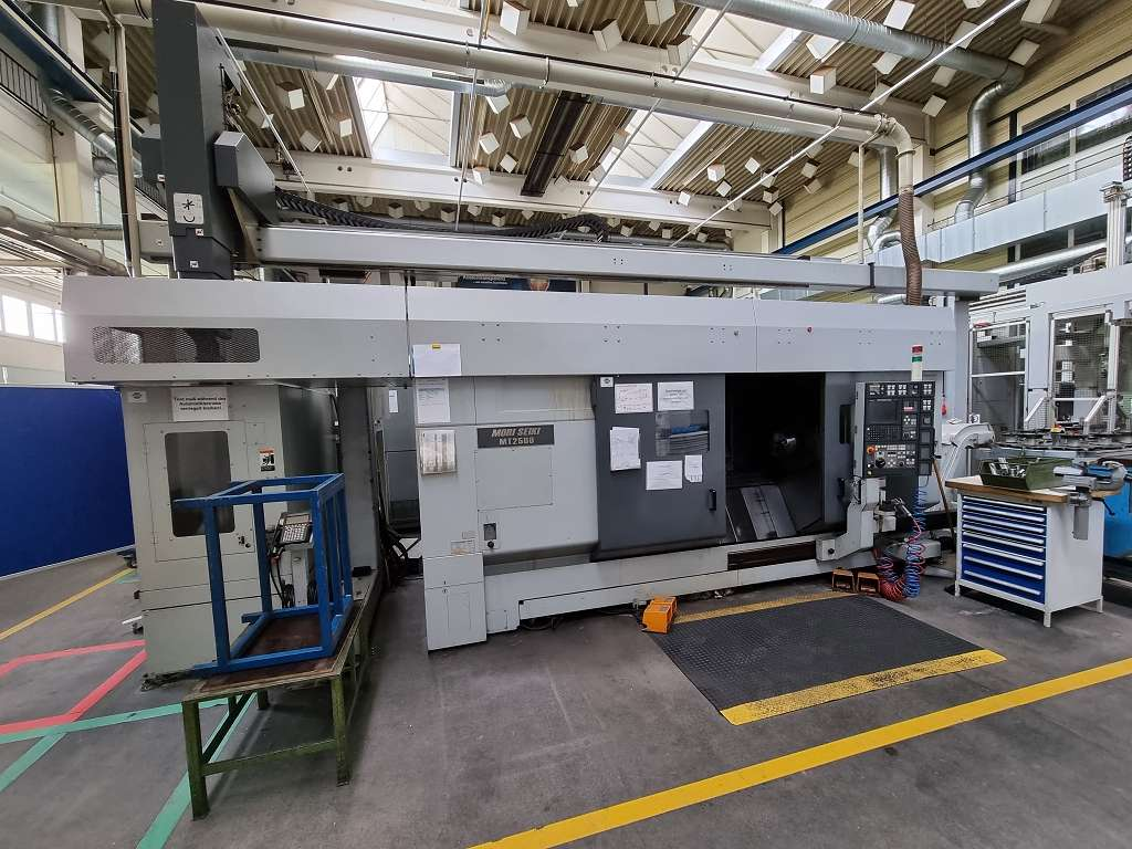 CNC Turning and Milling Machine Mori Seiki MT 2500 SZ 1500 NEU