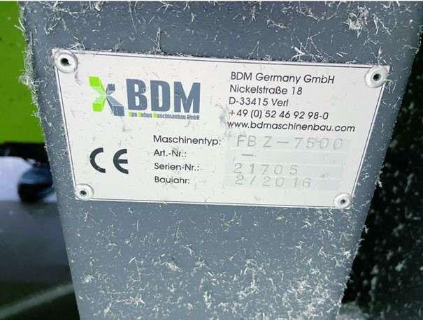 Обрабатывающий центр - универсальный BDM FBZ 7500 фото на Industry-Pilot
