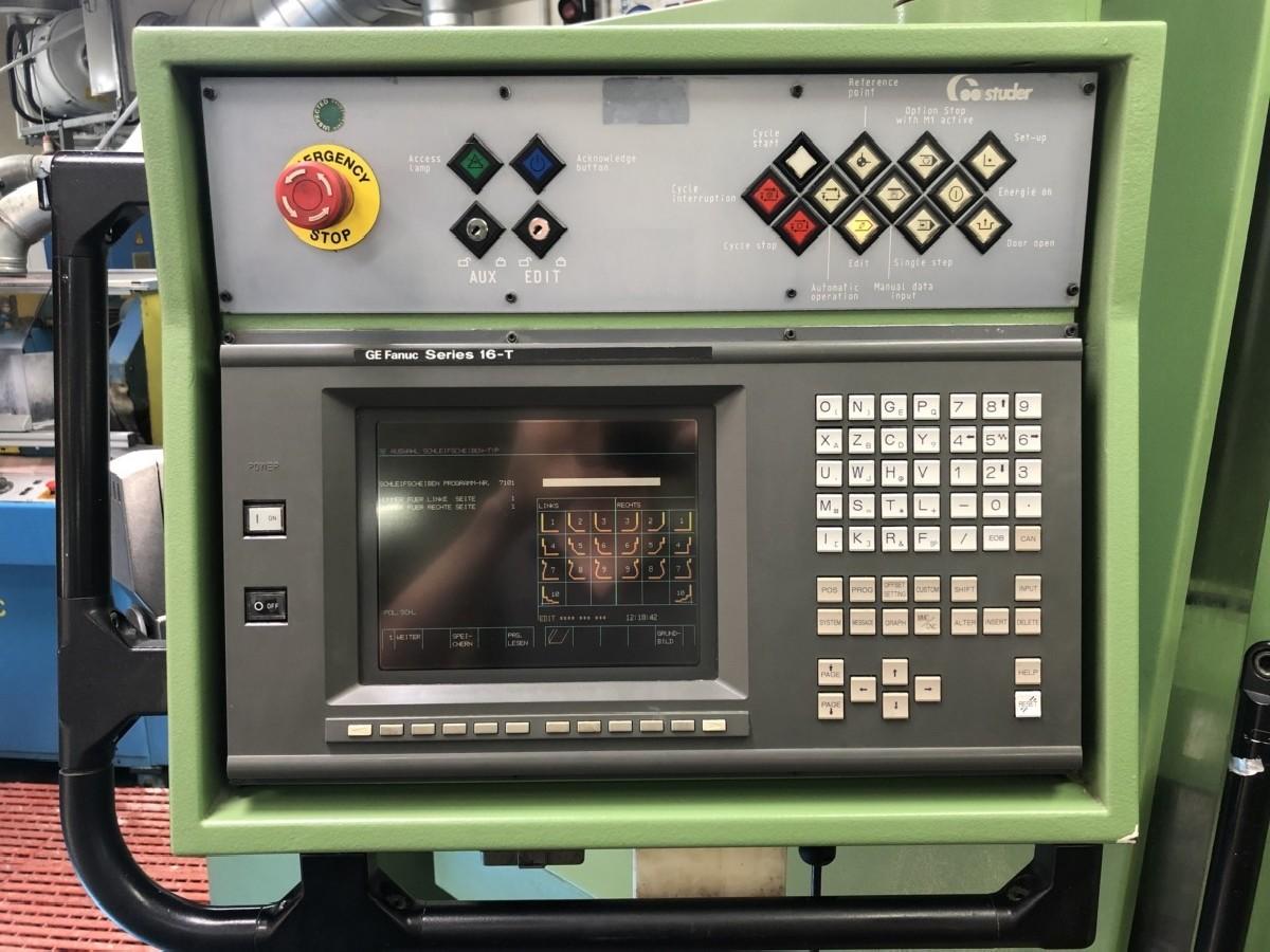 Круглошлифовальный станок STUDER S 40 CNC фото на Industry-Pilot