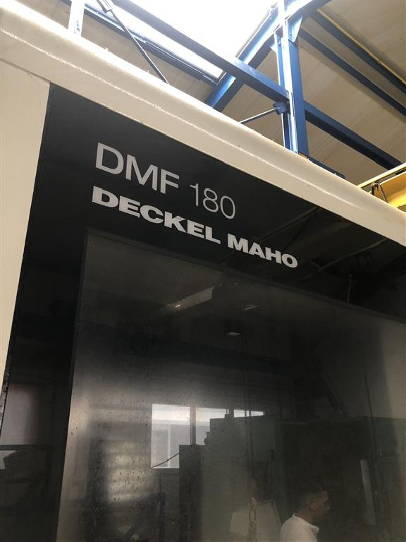 Обрабатывающий центр - универсальный DECKEL DMF 180-7 фото на Industry-Pilot
