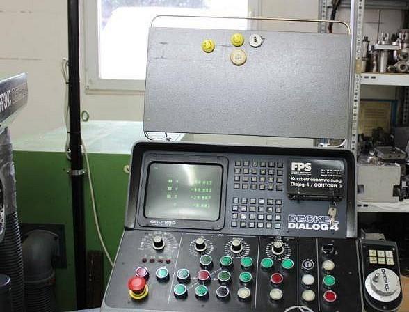 Фрезерный станок - универсальный DECKEL FP 3 NC Rundtisch фото на Industry-Pilot