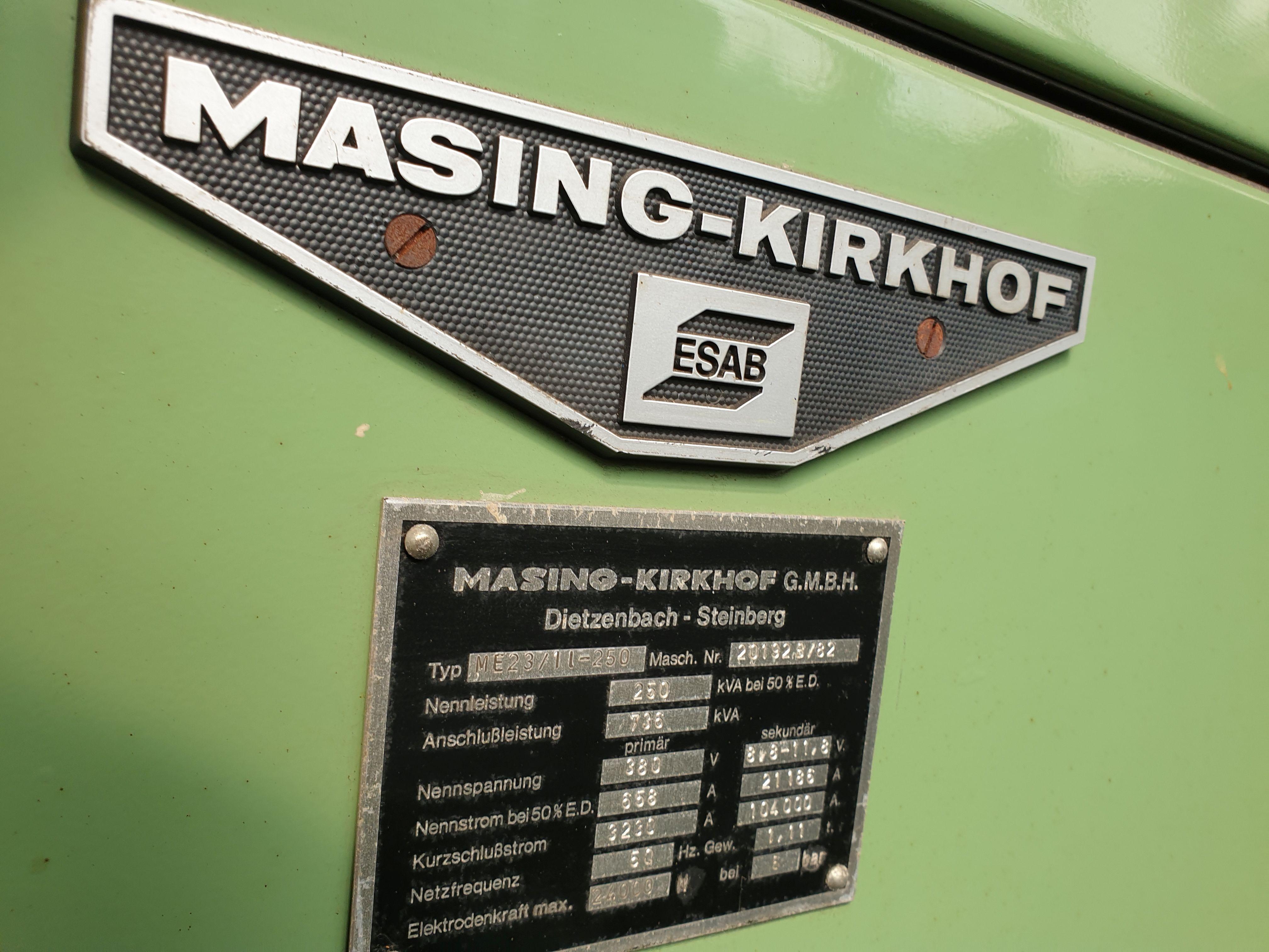 Точечная сварочная машина MARNIG-KIRCHHOFF ME 23/11-250 фото на Industry-Pilot