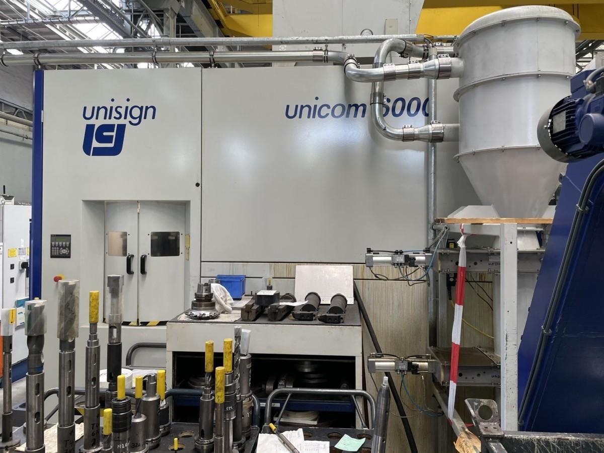 Карусельно-токарный станок - двухстоечный UNISIGN Unicom 6000 Doppelständer фото на Industry-Pilot