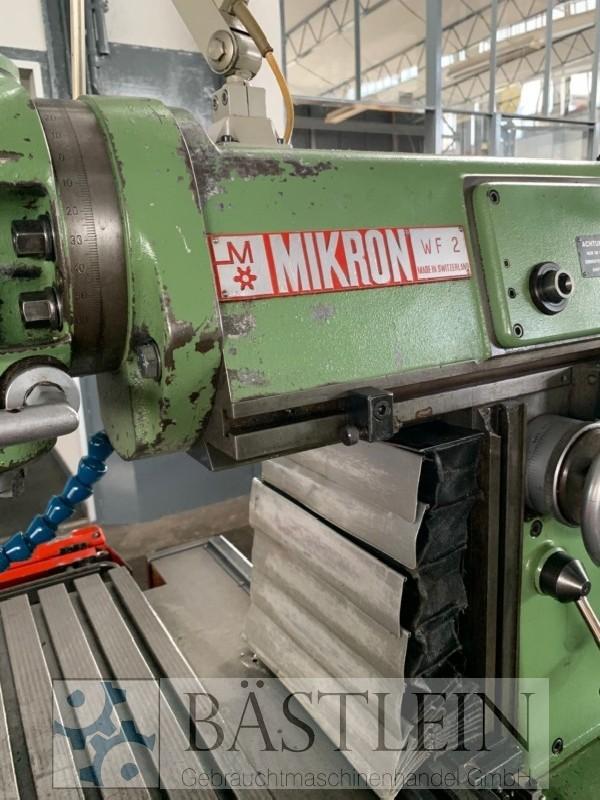 Обрабатывающий центр - универсальный MIKRON WF2 фото на Industry-Pilot